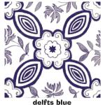 Delfts blue digital graphic