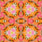 Kaleidoscope bright pink