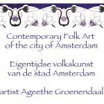 Contempary folk art Amsterdam - eigentijdse volkskunst